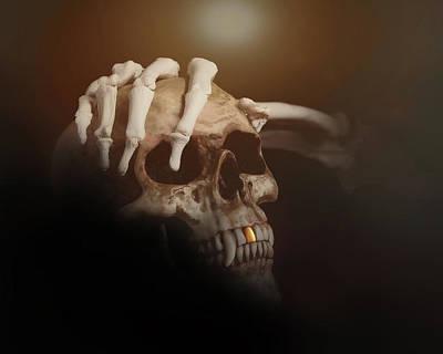 Fright Photograph - Death's Head by Tom Mc Nemar