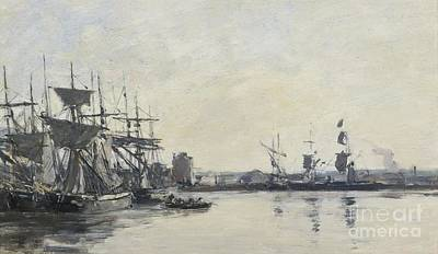 Bassin Painting - Deauville, Le Bassin by Celestial Images