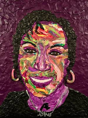 Mixed Media - Deb A Self Portrait by Deborah Stanley