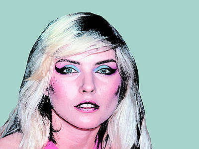 Blondie Photograph - Debbie Harry by Dominic Piperata