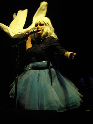 Blondie Photograph - Debbie Harry Live In New Zealand by David Peters