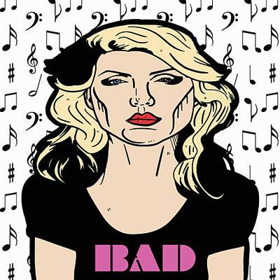 Blondie Digital Art - Debbie Harry  by Nicole Wilson