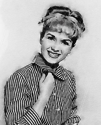 Debbie Reynolds Hollywood Actress Art Print by John Springfield