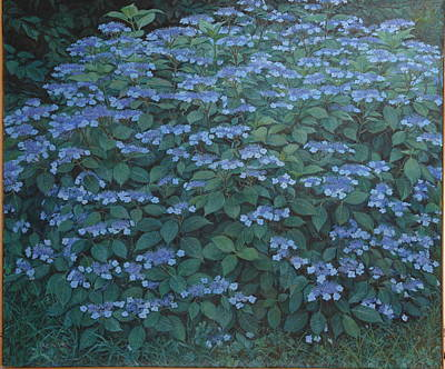 Painting - Debi's Hydrangea by James Sparks