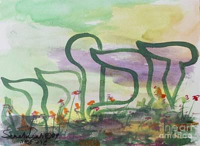 Painting - Deborah  by Hebrewletters Sl