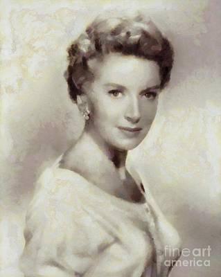 Deborah Kerr, Vintage Actress Art Print