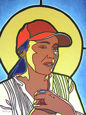 Painting - Deborah by SpiritPainter