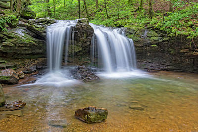 Photograph - Debord Falls At Frozen Head State Park by Jim Vallee