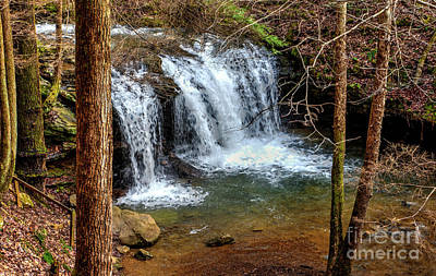 Photograph - Debord Falls In Winter by Paul Mashburn