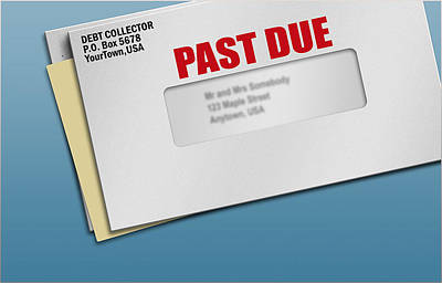 Debt Mixed Media - Debt Collection Abuse Alexandria Va by Baney