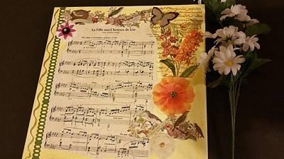 Mixed Media - Debussy by Cheryl Dean