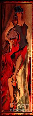 Debut In Red Art Print by Anne Weirich
