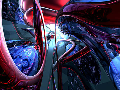 Corruption Digital Art - Decadence Abstract by Alexander Butler