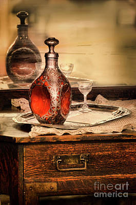 Photograph - Decanter And Glass by Jill Battaglia