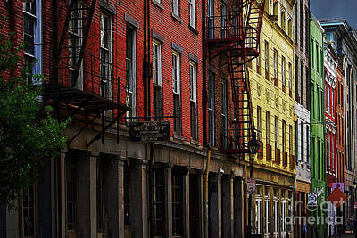 Photograph - Decatur Street Color by Jarrod Erbe