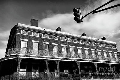 Photograph - Decatur Street View Mono by John Rizzuto