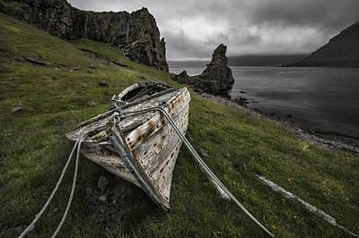 Coast Photograph - Decay by Bragi Ingibergsson -