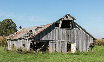 Decaying Barn Art Print