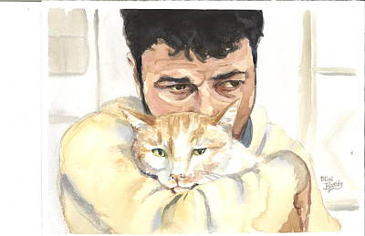 Painting - December Alaa And Ernesto by Mimi Boothby