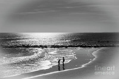 Photograph - December At The Jersey Shore by Judy Wolinsky