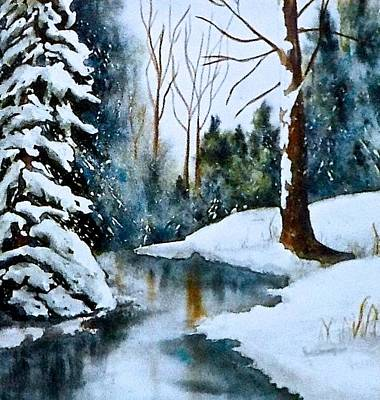 Painting - December Beauty by Carolyn Rosenberger