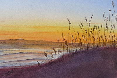 December Dawn - Kitty Hawk Art Print by Joel Deutsch