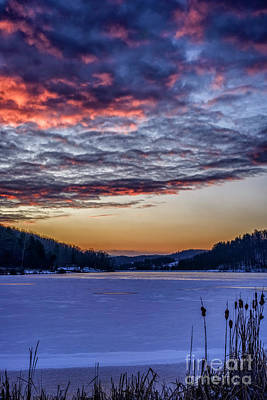 Photograph - December Dawn On The Lake by Thomas R Fletcher