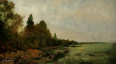 Painting - December Dawn by RC DeWinter