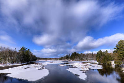 Photograph - December Day On The Moose River by David Patterson