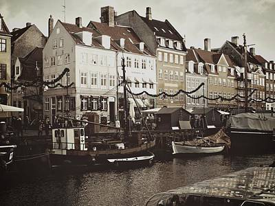 Photograph - December In Nyhavn by Dorothy Berry-Lound