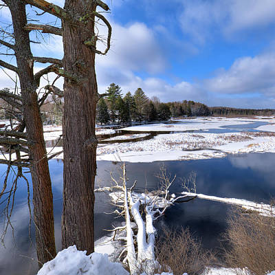 Photograph - December In Old Forge by David Patterson
