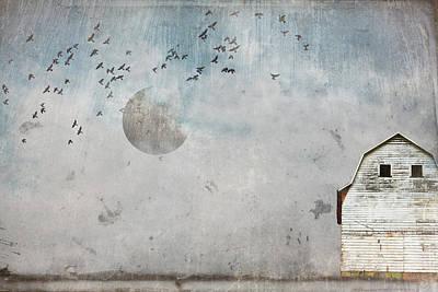 Photograph - December Original Photo Manipulation  by Gray  Artus