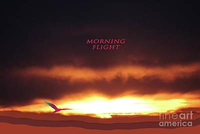 Digital Art - December Sunrise by Donna L Munro