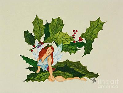 Painting - December by Terri Mills