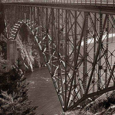 Photograph - Deception Pass Bridge by Joseph G Holland