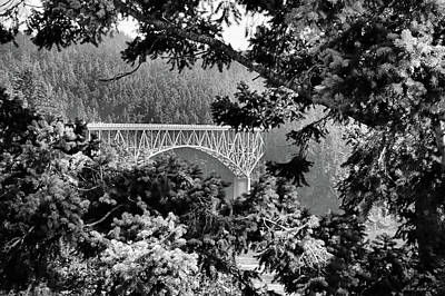 Photograph - Deception Pass Bridge by Michelle Joseph-Long