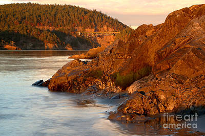 Photograph - Deception Pass Landscape by Adam Jewell