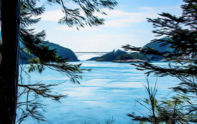 Photograph - Deception Pass by Steph Gabler