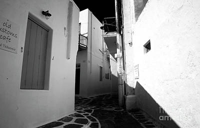 Photograph - Decisions In Mykonos Infrared by John Rizzuto