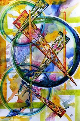 Painting - Decisions by Kim Shuckhart Gunns