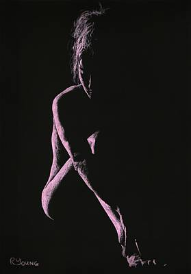 Semi-nude Pastel - Decisions by Richard Young