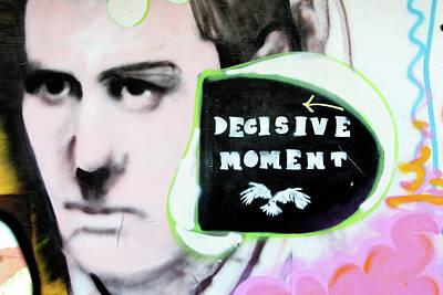 Stencil Art Photograph - Decisive Moment by Art Block Collections
