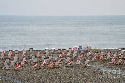 Photograph - Deck Chairs by Andy Thompson