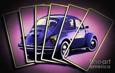 Deck Of Volkswagen  Art Print by Chris Evans