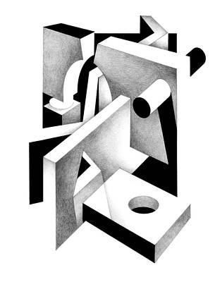 Digital Art - Decline And Fall 20 by David Chestnutt