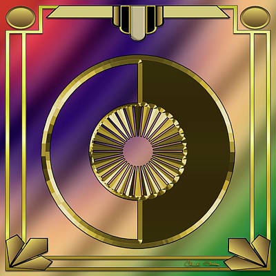 Digital Art - Deco 27 by Chuck Staley
