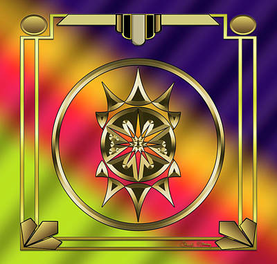 Digital Art - Deco 28 by Chuck Staley