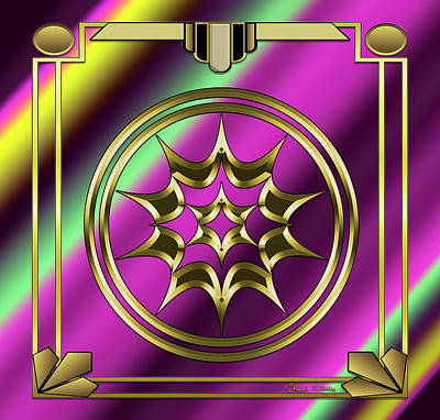 Digital Art - Deco 29 by Chuck Staley