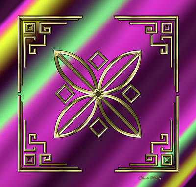 Digital Art - Deco 30 by Chuck Staley