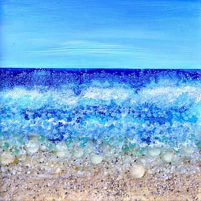 Deco Beach Art Print